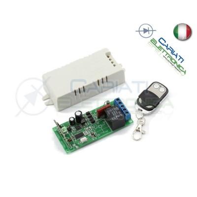 Scheda Ricevente Ricevitore 230V 433 Mhz 1 Relè Canale con Telecomando