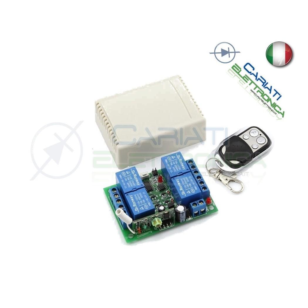 4 Canale 433mhz Scheda Di Controllo Modulo Relè+Telecommando Per Arduino 5V