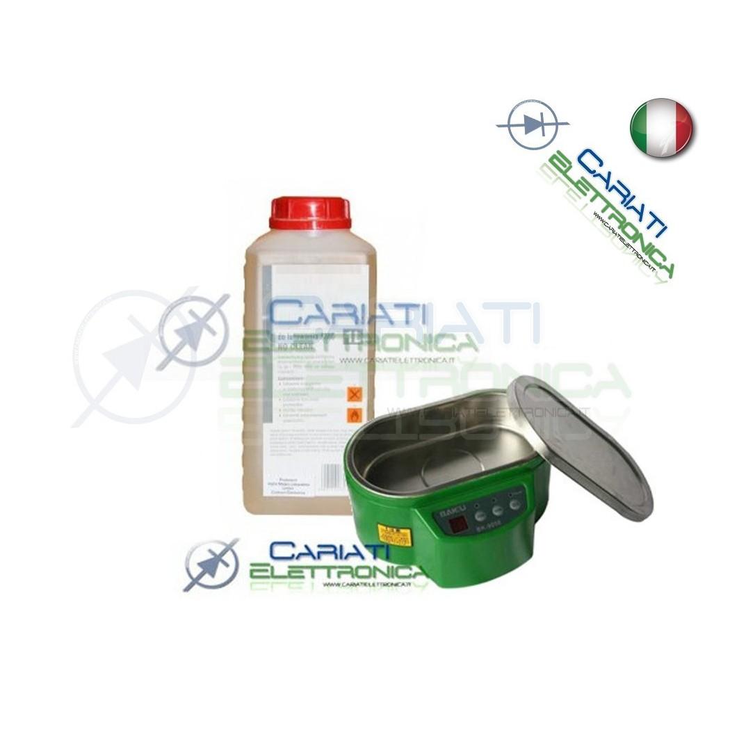 Liquido per PULIRE scede madri PCB Vasca ULTRASUONI ISOPROPILICO DETERGENTE   8,00€