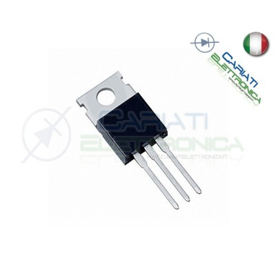 1 PEZZO IRF520 IRF 520 N N-FET 100V 9.2A MOSFET