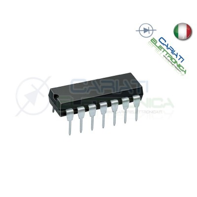 2 PEZZI HCF4081BE HCF4081 Integrato 4 Porte AND 1,00 €