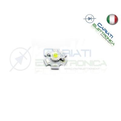 10 pz Led Power Bianco Freddo 3W 3 Watt 200 Lumen Lm 700mA 43,00 €