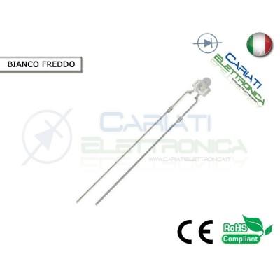 20 pz Led 1,8mm Bianchi Bianco 13000mcd Alta Luminosità  4,50€