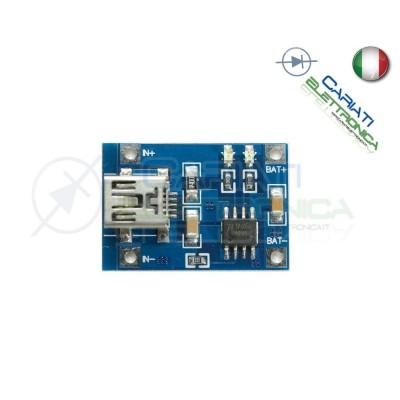 USB 5V 1A Batteria Ricarica Modulo Caricabatteria Litio Lithium TP4056  1,09€
