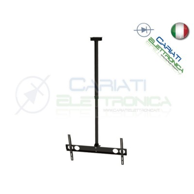 "SUPPORTO STAFFA PARETE TV LCD TFT LED SOFFITTO DA 37 A 70 POLLICI 37"" a 70"""