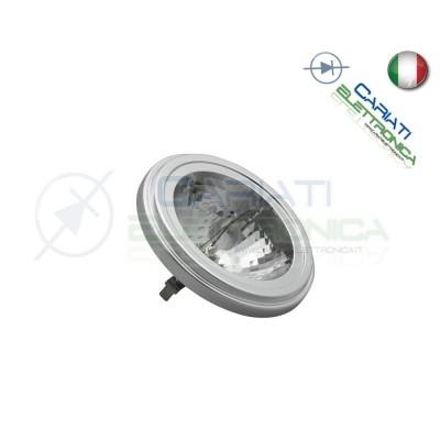 Lampada Alogena 50W G53 AR111 luce calda 12V