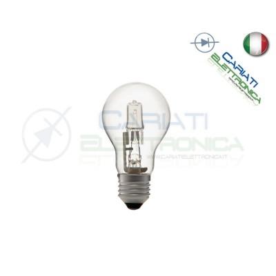 Lampadina Goccia Alogena 28w E27 ECO Risparmio Energetico Casa 230V 1,20 €