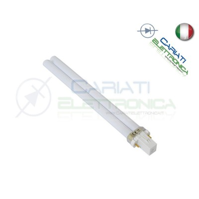 Lampada Lampadina 2pin G23 a Risparmio Energetico 9w 4000K  2,80€
