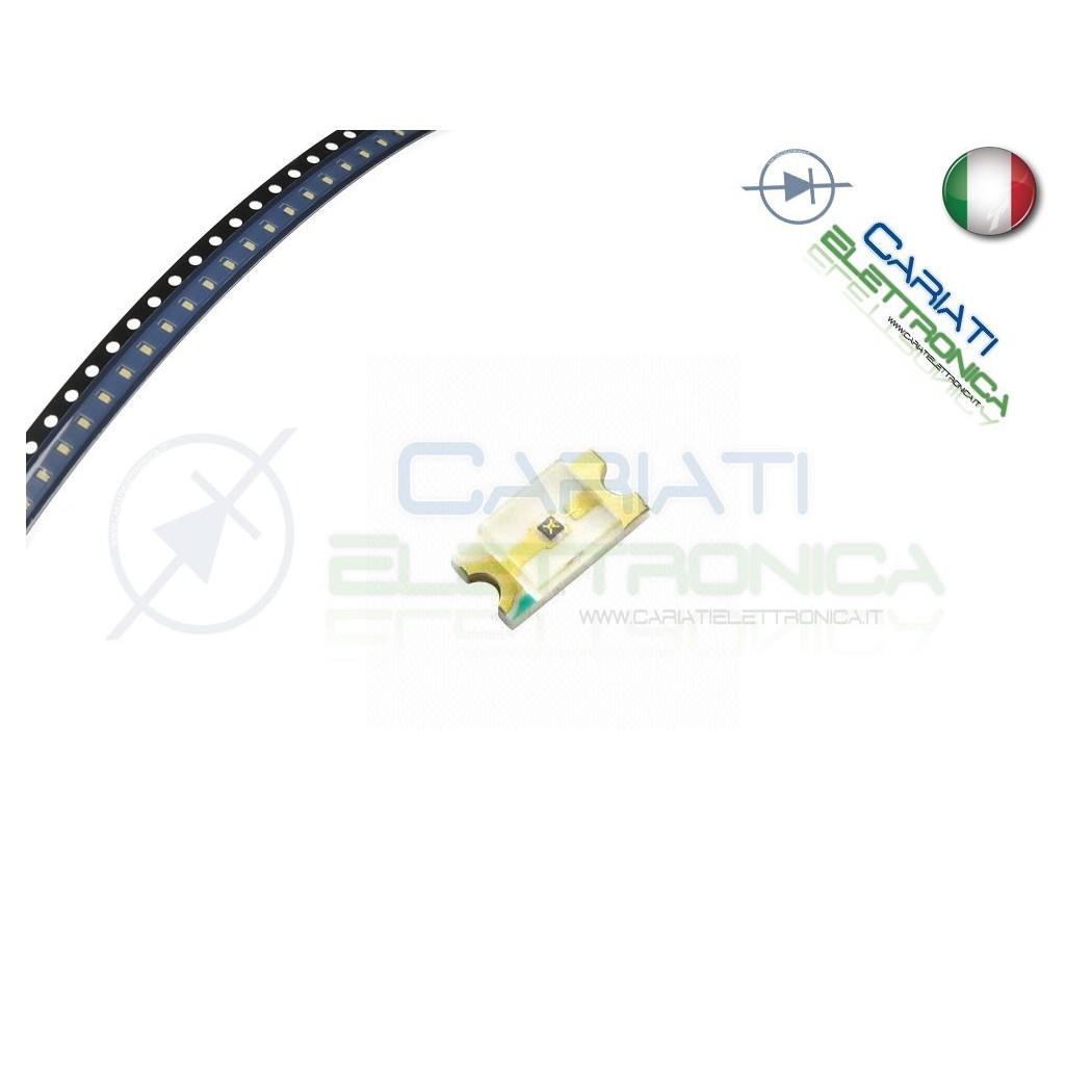 10 Led smd 0603 Bianchi Bianco alta luminosità  4,00€