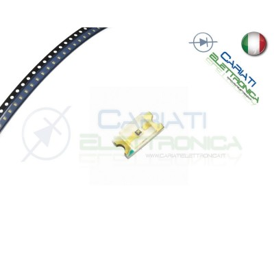10 Led smd 0603 BLU alta luminosità