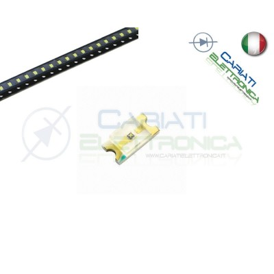 10 pz Led smd 1206 ROSSI ROSSO alta luminosità  4,50€