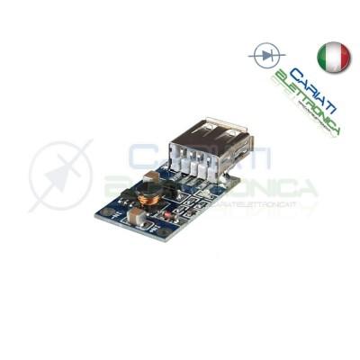 Convertitore modulo DC DC Step Up Boost ingresso da 1 a 5V uscita 5V 500mA USBGenerico