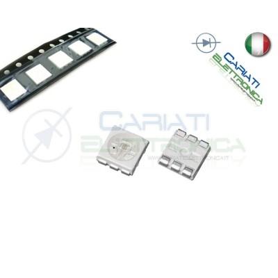 10 pz Led smd 5050 BIANCHI BIANCO PLCC6 alta luminosità 5,90 €