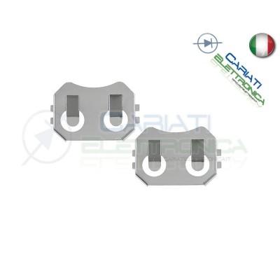 Portabatterie SMD per Batteria a Bottone CR2032 CR 2032  1,00€