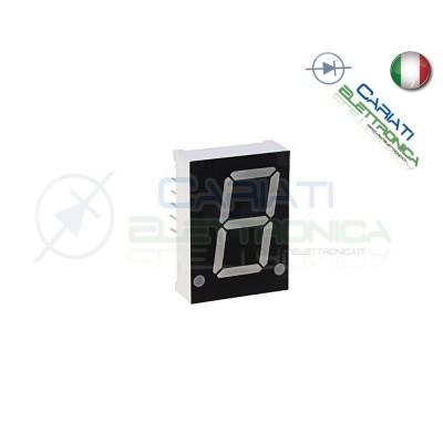 """2 Pezzi Display 3\\"""" 19mm 7 Segmenti Bianco Catodo Comune 3,50 €"""