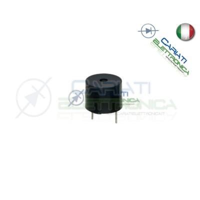 Cicalino Buzzer Passivo 5V Senza Oscillatore Diametro 12mm  1,00€