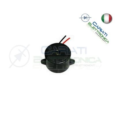 Cicalino Buzzer attivo 5V 12V 24V Oscillatore Integrato Diametro 23mm