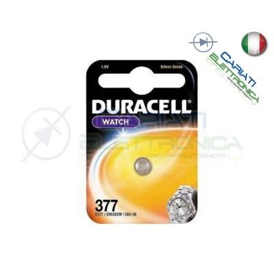 1 PILA BATTERIA DURACELL WATCH 377 D377 Duracell 1,49 €