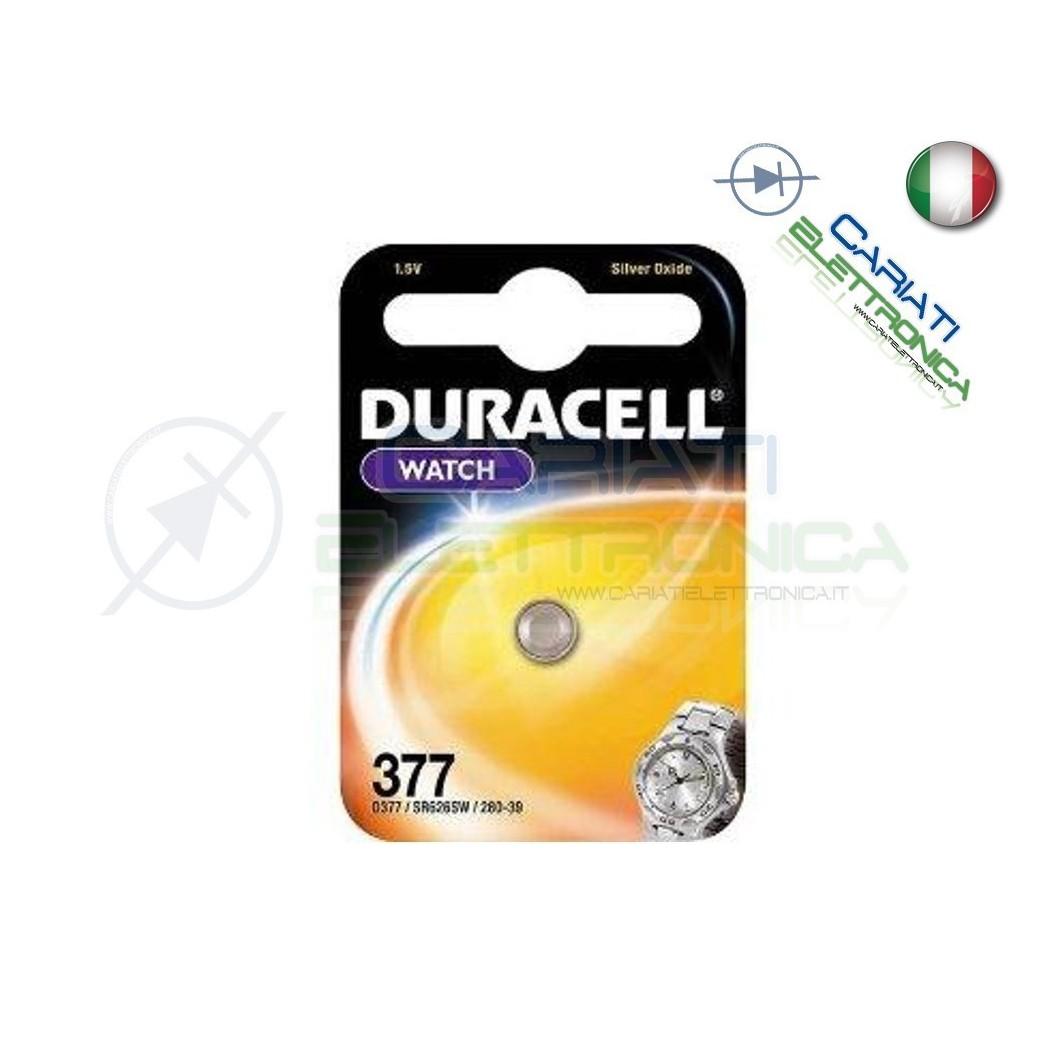 1 PILA BATTERIA DURACELL WATCH 377 D377 Duracell