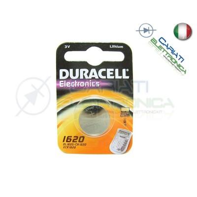 BATTERIA DURACELL DL1620 PILA A BOTTONE CR1620 1620 Duracell 1,49 €