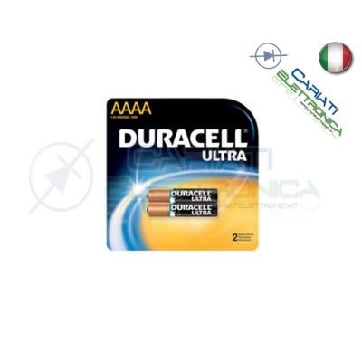 2 BATTERIE PILE DURACELL AAAA MN2500 1.5V ALKALINE PILA Duracell 4,50€
