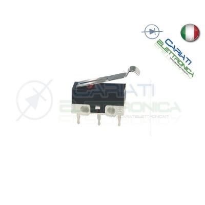 10 Pezzi MicroSwitch a leva Pulsante Fine Corsa Micro Switch PCB