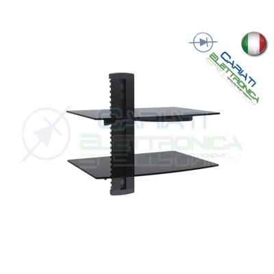 MENSOLA SUPPORTO PER TV DVD XBOX PS3 SKY STEREO AUDIO VIDEO CONSOLE 24,90 €