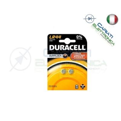 2 PILE PILA LR44 A76 V13GA DURACELL 1.5V Duracell