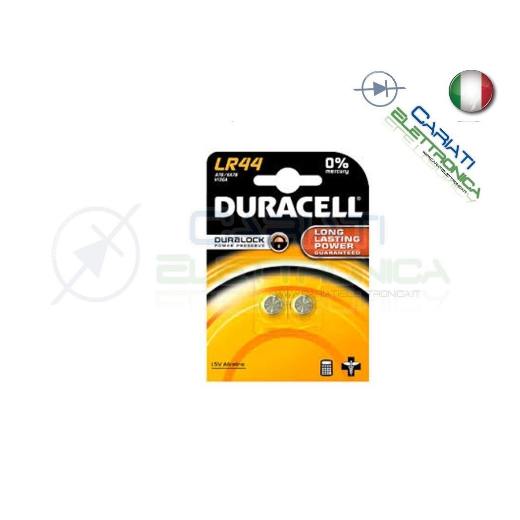 2 PILE PILA LR44 A76 V13GA DURACELL 1.5V Duracell 1,10€