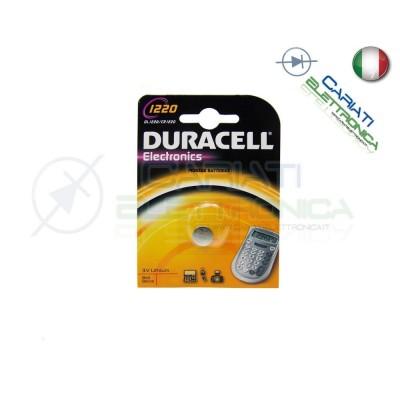 BATTERIA DURACELL DL1220 PILA A BOTTONE CR1220 3V 1220 Duracell 1,69€