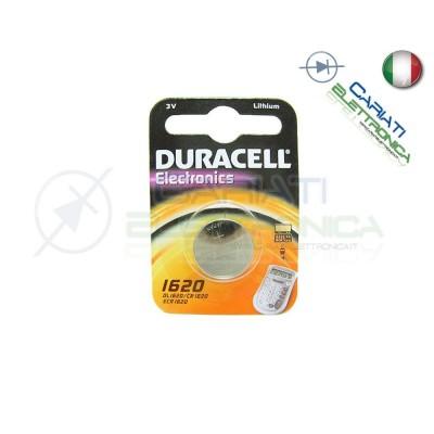 BATTERIA DURACELL DL1620 PILA A BOTTONE CR1620 1620 Duracell