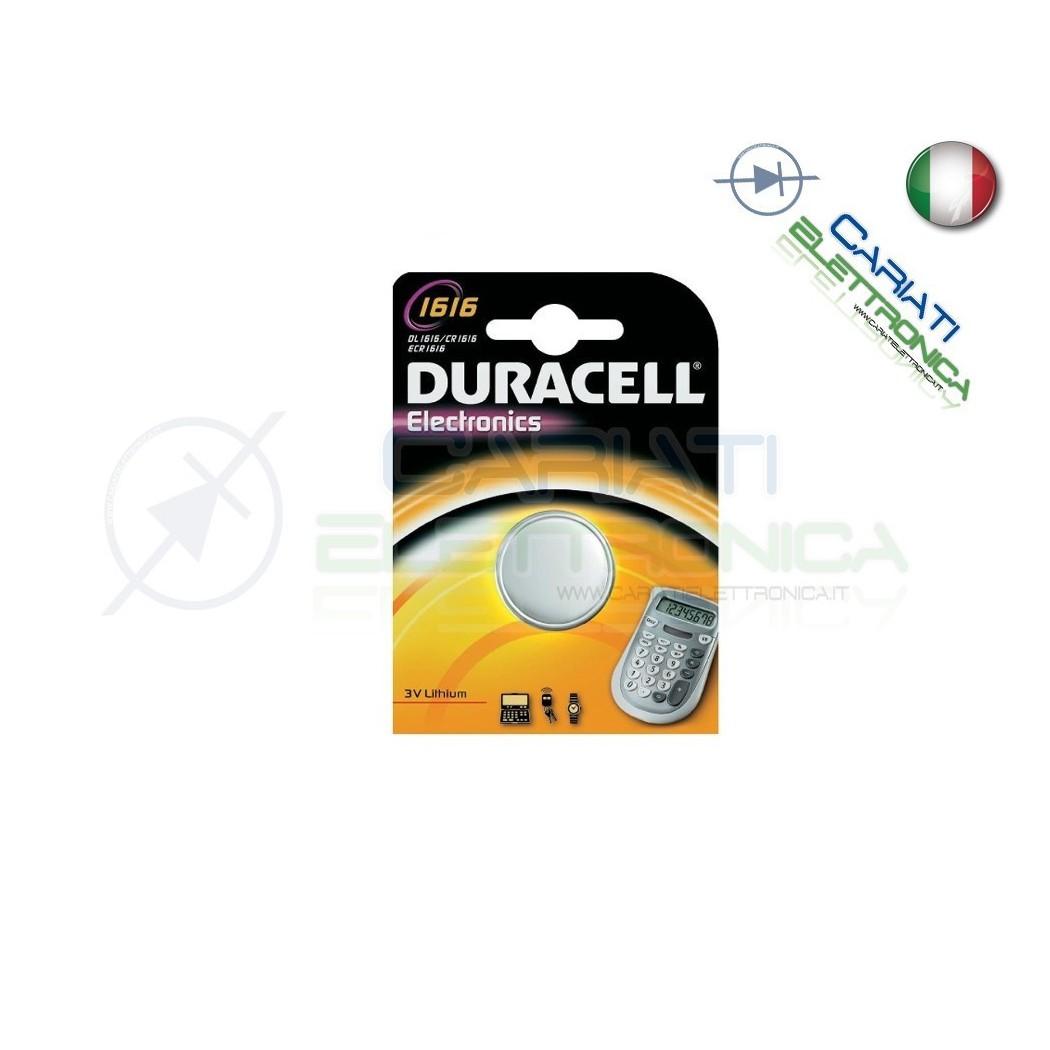 BATTERIA DURACELL LITHIUM 1616 CR1616 CR 1616 DL1616 Duracell