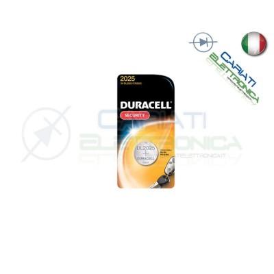BATTERIA DURACELL LITHIUM 2025 CR2025 CR 2025 DL2025 Duracell 1,29€