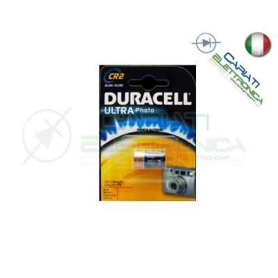BATTERIA PILA DURACELL PHOTO ULTRA CR2 LITHIUMDuracell