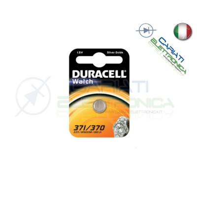 PILA BATTERIA DURACELL WATCH 371 370Duracell