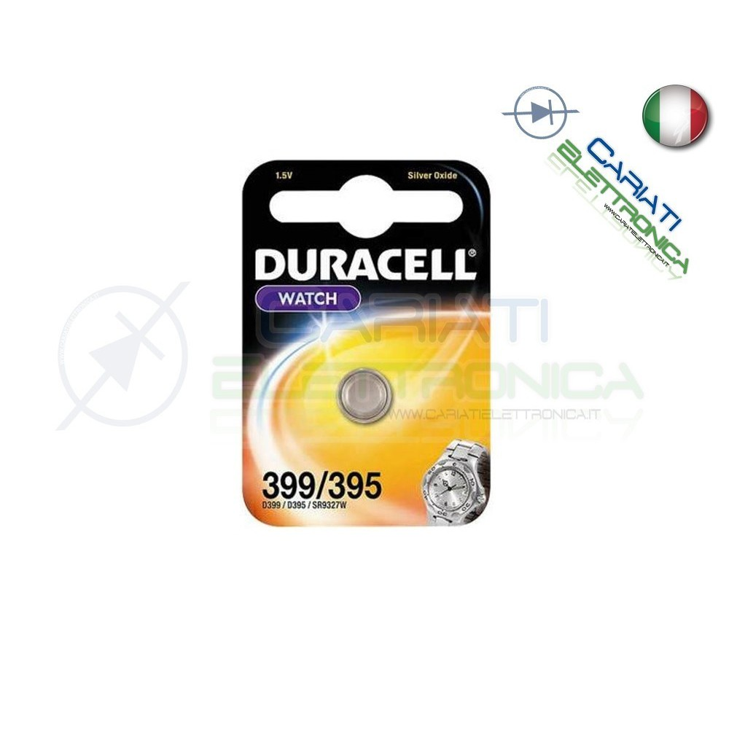 PILA D 395 399 DURACELL BATTERIA Duracell