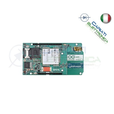 Arduino GSM Shield 2 con antenna integrata - SIM NON inclusa