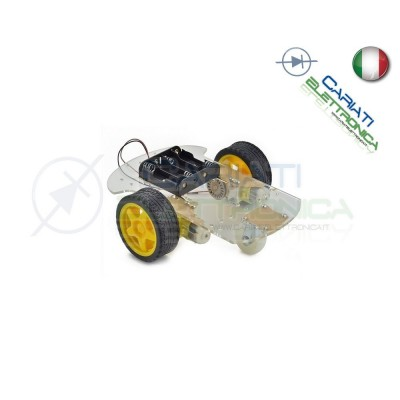 KIT Robot Car chassis piattaforma shield Arduino Pic