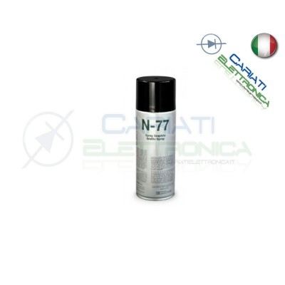 N-77 DUE-CI 400ML SPRAY TECNICO GRAFITE ELETTROCONDUTTIVA PER ELETTRONICA Due-Ci