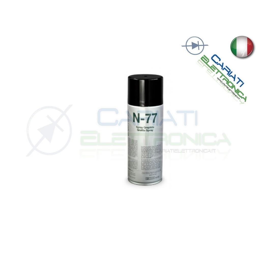 N-77 DUE-CI 400ML SPRAY TECNICO GRAFITE ELETTROCONDUTTIVA PER ELETTRONICA Due-Ci 11,59 €