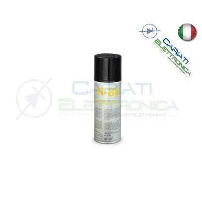 H-88 200 ml DUE-CI SPRAY COMPOSTO ANTISTATICO H88 ORIGINALE !!! Due-Ci