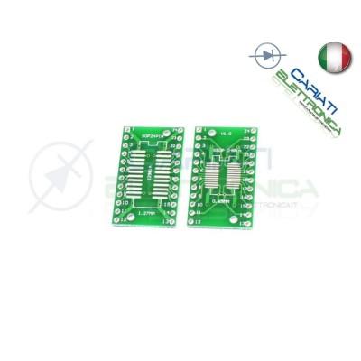 1 Pezzo Adattatore Basetta Test PCB SOP24 SO24 SOIC24 SMD a DIP24 1,00 €
