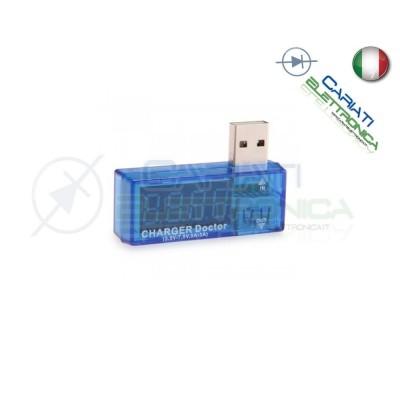 Voltmetro Amperometro Digitale Misuratore USB DC 7,5V 3A
