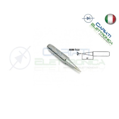 Punta 900M-T-0.8 stazione saldante stilo punte ricambio 0.8mm Guangzhou Yihua Electronic Equipment Co.,Ltd. 2,90 €