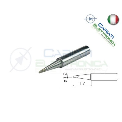 Punta 900M-T-1.2 stazione saldante stilo punte ricambio 1.2mm Guangzhou Yihua Electronic Equipment Co.,Ltd. 2,90 €