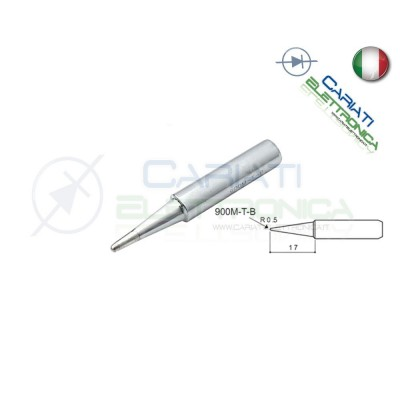 Punta 900M-T-B stazione saldante stilo punte ricambio 0.5mm Guangzhou Yihua Electronic Equipment Co.,Ltd. 2,90 €