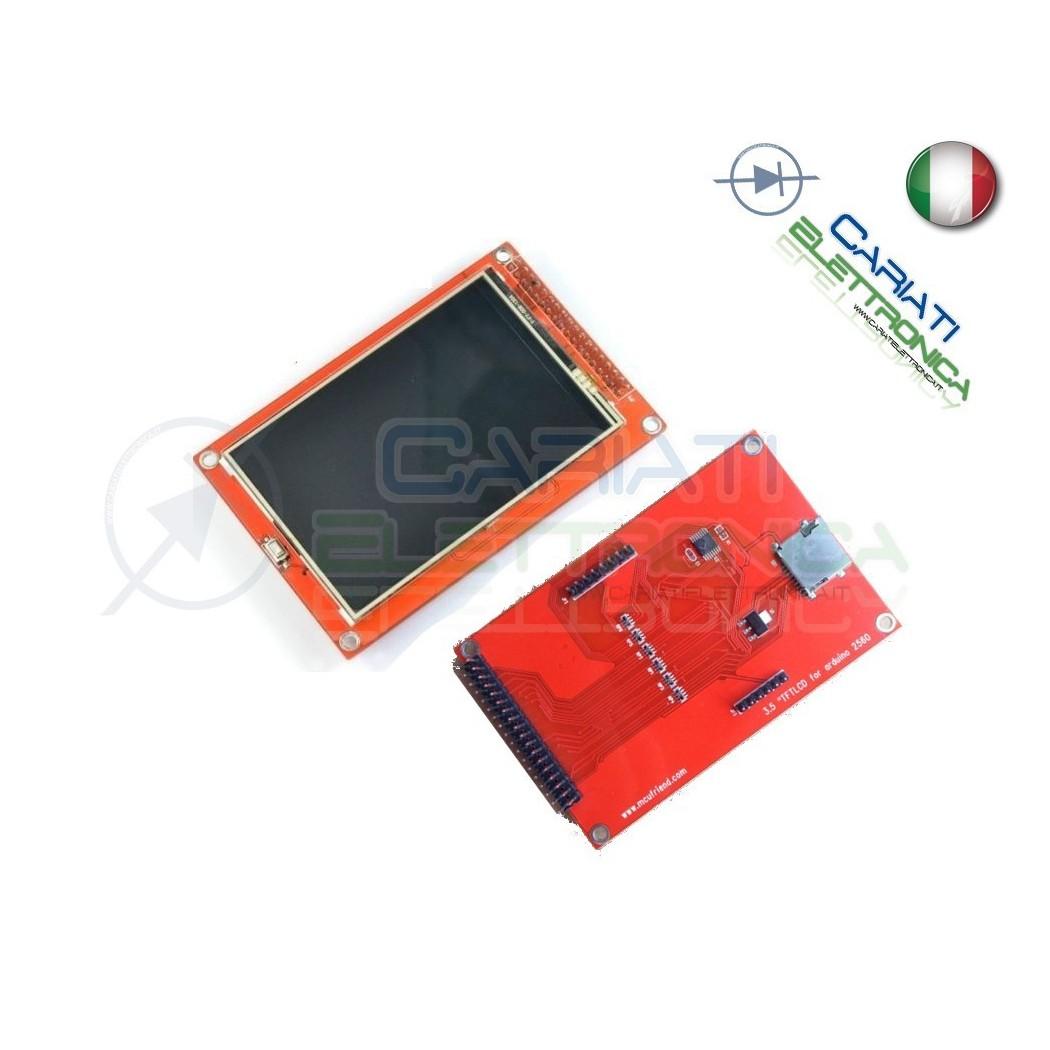 Display lcd grafico a colori 400X270 3.6 TFT con touch screen per Arduino Mega  23,90€