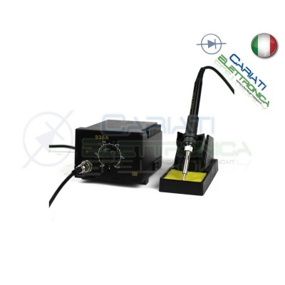 STAZIONE SALDANTE SALDATORE STAGNO Modelo 936 Guangzhou Yihua Electronic Equipment Co.,Ltd. 27,50 €