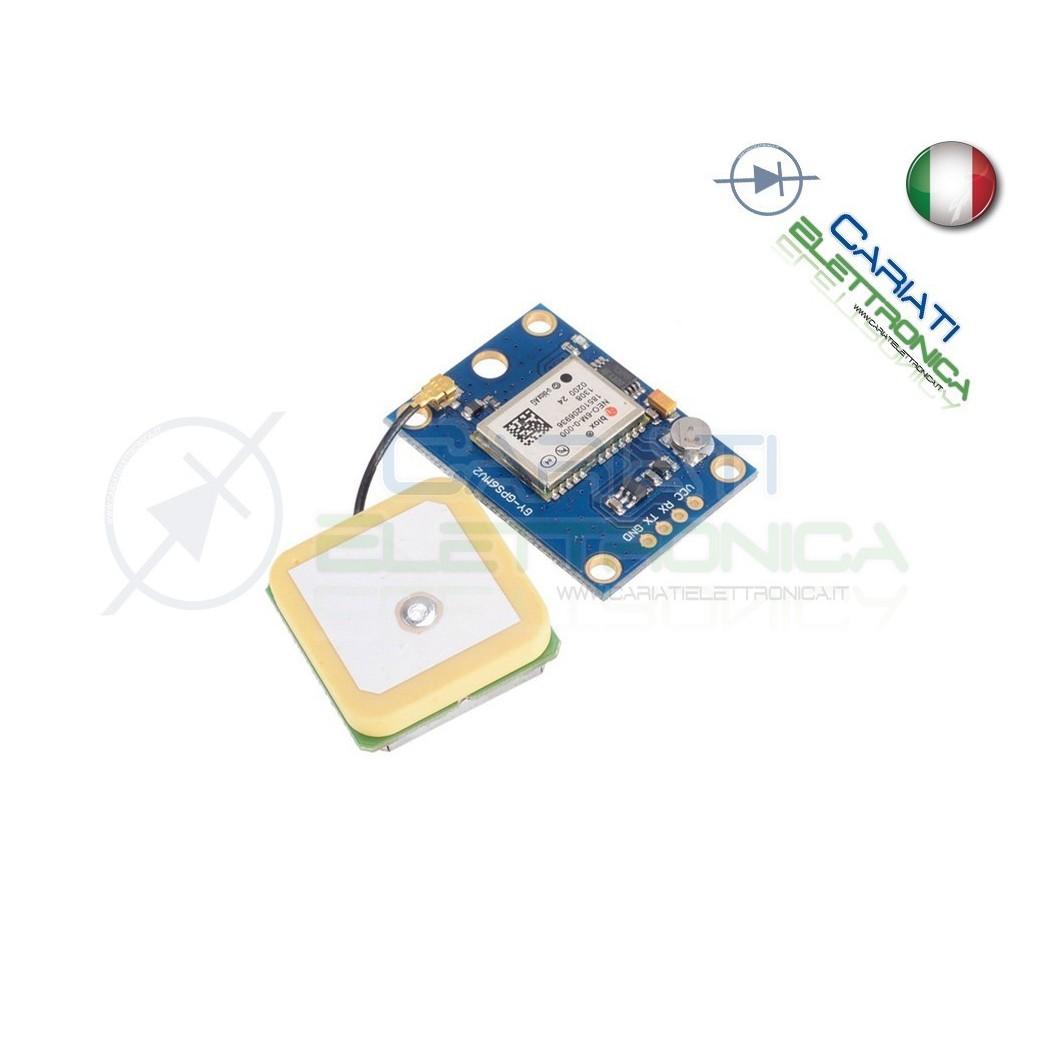 Modulo GPS NEO-6M UBLOX compatibile con Arduino  19,99€