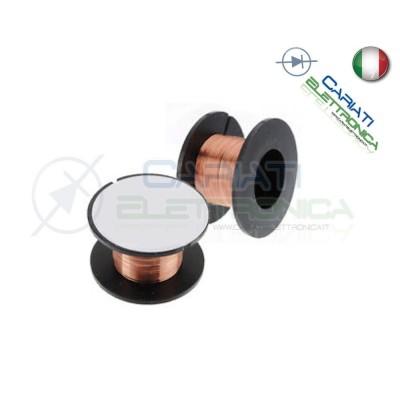 BOBINA DI FILO SMALTATO PPA RAME 0.1mm RIPARAZIONE PISTE PCB CIRCUITI